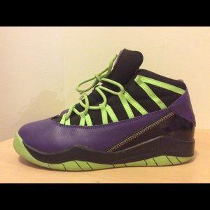 Purple Nike Air Jordans Size 3 Youth